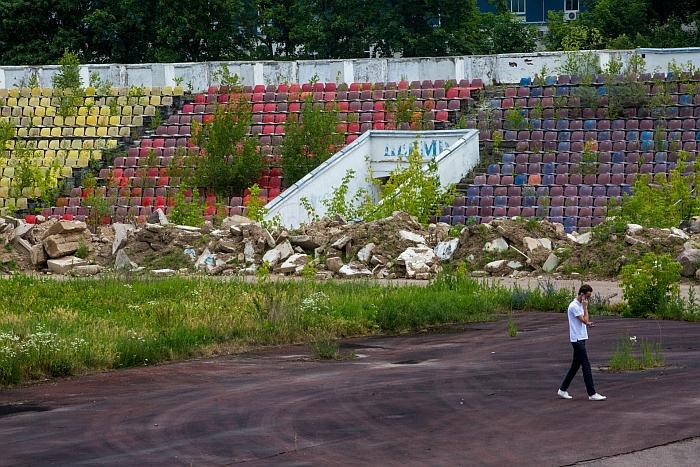 """Vilniaus """"Žalgirio"""" stadionas (15min.lt nuotr.)."""