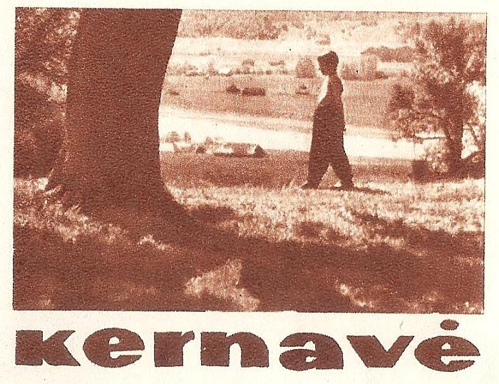 """Taip susiklostė aplinkybės (Jonas Stankevičius, tuomet šešiametis vaikas, 1960 metais pakliuvo į fotografo kadrą ir jo nuotrauka buvo išspausdinta Mokslinės literatūros leidyklos leidinio """"Kernavė"""" tituliniame puslapyje)..."""