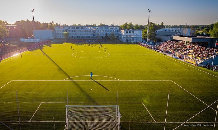 Širvintų stadionas - pavyzdys būsimam Vilnaius merui (Arnoldo Mikulevičiaus nuotr.).