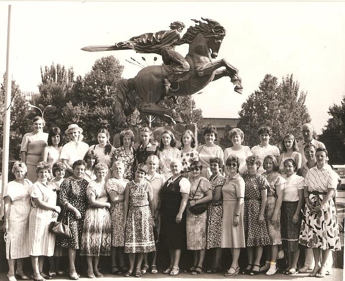 Širvintų rajono mokytojų išvyka į Armėniją. 1987 m.