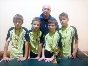 Širvintų jaunučiai - rajonų grupės bronzos medalių laimėtojai.