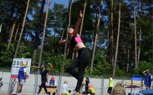 Širvintiškė Lina Surgelaitė aplenkė dvi varžoves ir užėmė dešimtąją vietą.
