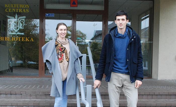 Agnė ir Gediminas pasirinko Širvintas, darbuojasi Kultūros centre.