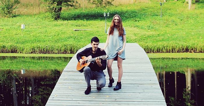 Agnė Zubavičiūtė-Svilienė ir Gediminas Svilas (nuotrauka iš asmeninio albumo)