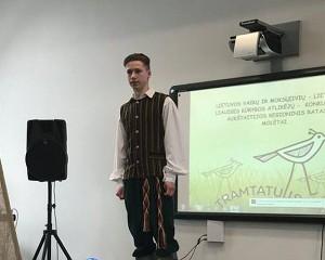 """Tado prisiminimai iš konkurso """"Tramtatulis"""""""