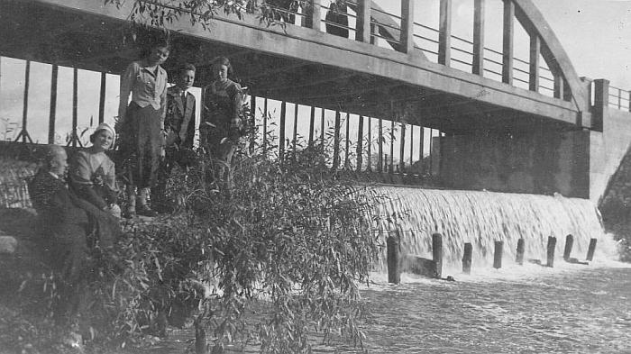 Dariaus ir Girėno tiltas per Musę. (kvr.kpd.lt nuotr.)