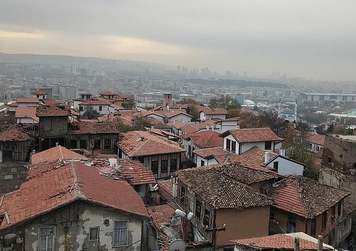 Ankaros miestas. Kaip ir visos sostinės turi savotiško žavesio.
