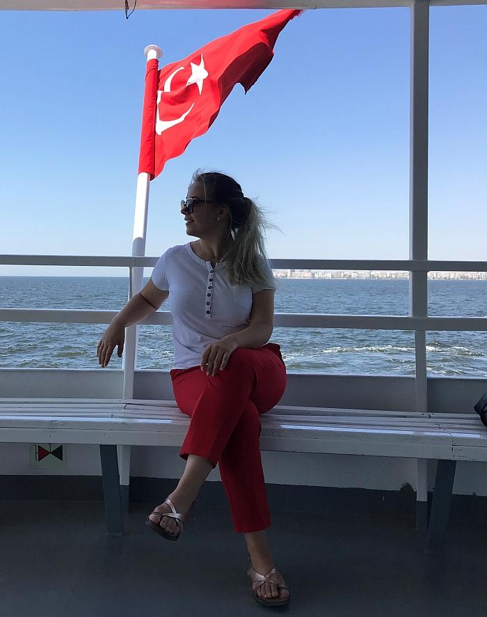 Šarūnė Turkijoje...