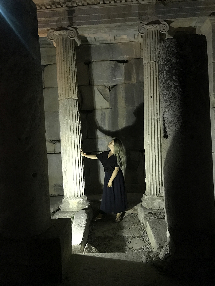 Senovinio Efeso miesto griuvėsiai.