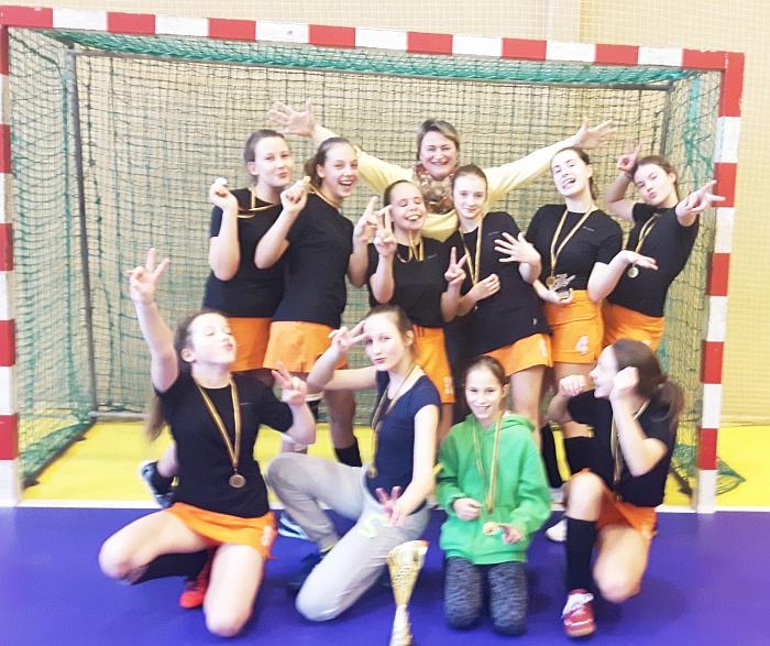 Širvintiškės - šalies šešiolikamečių čempionės