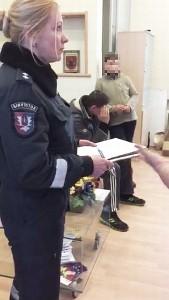 Įtariamųjų porelė buvo pristatyta į Policijos komisariatą.