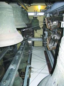 Kauno kariljono pagrindą sudaro 35 tarpukariu Belgijoje nupirkti varpai.
