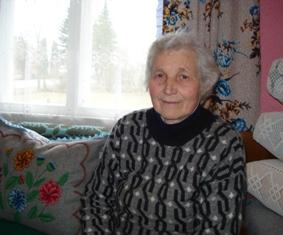 """Kiauklių  gyventoja Aldona Jočienė: """"Tai, ką aš padariau per savo gyvenimą, liks vaikams ir anūkams prisiminimui."""""""