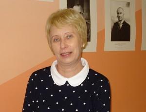 """Širvintų """"Atžalyno"""" progimnazijos istorijos mokytoja Vida Stakauskaitė."""