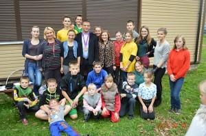 vaikams šis renginys liks tikrai įsimintinas, nes jame dalyvavo (buvo atsakingas už bendrą turnyro tvarką) Londono olimpinių žaidynių graikų-romėnų imtynių varžybų bronzos medalio laimėtojas Aleksandras Kazakevičius.