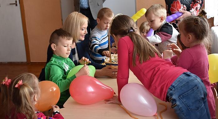 Vileikiškių darželio grupėje