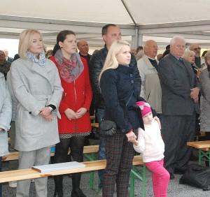 Šventėje dalyvavo Širvintų rajono merė Živilė Pinskuvienė, merės patarėja Janina Greiciūnaitė, Administarcijos direktorė Ingrida Baltušytė-Četrauskienė