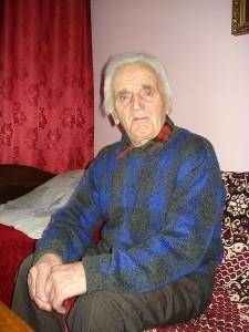 """Beivydžių kaimo gyventojas Zigmas Vaskela: """"Gera būdavo jaunystėje, kai stiprus ir """"drūtas"""" buvau."""""""