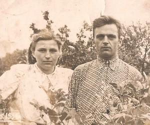 Leonora ir Zigmas Vaskelai. 1956 metai.