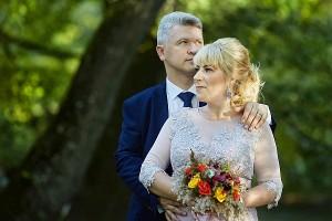 Arturo ir Žanetos Gerulskių vestuvinė fotografija.