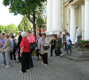 Zarasų krašto muziejuje išgirdome daug įdomių faktų.