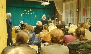 Rajono vadovių susitikimas su Zibalų mokyklos bendruomene