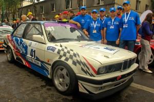 """""""AutoABC-SGR"""" komanda, kuriai atstovavo Širvintų rajono tarybos narė Živilė Pinskuvienė."""
