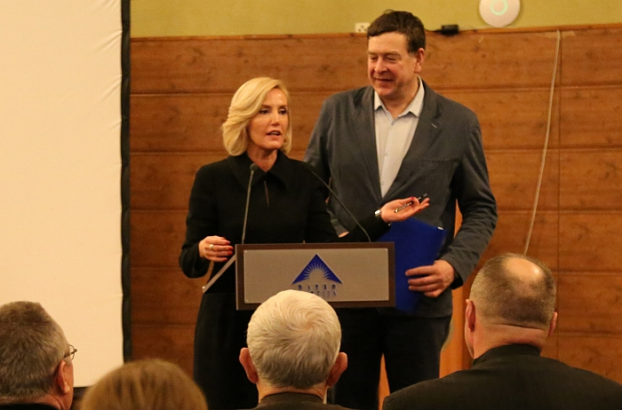 Živilė Pinskuvienė ir Valentinas Bukauskas