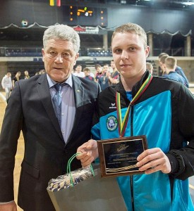 Giedrius Adomavičius - geriausias pirmenybių žaidėjas.