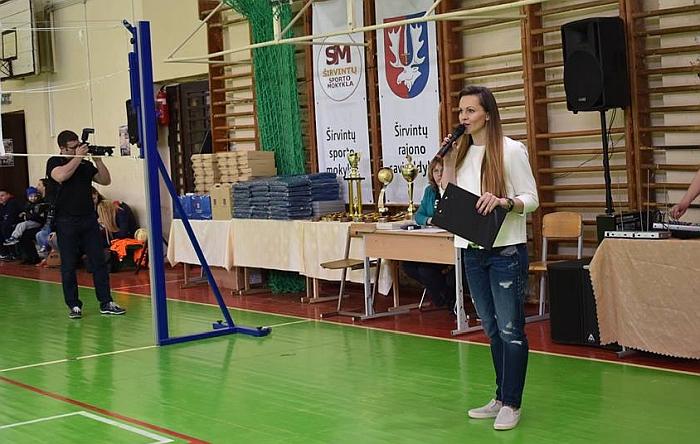 Renginiu džiaugėsi Sporto mokyklos direktorė Alina Zapolskienė.