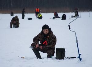 Žvejams teko parodyti daug kantrybės.