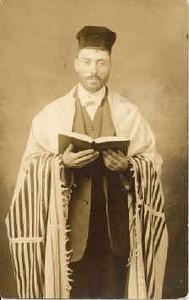 Gelvoniškio David Peretz Adiman sūnus Feiveh, emigravęs į JAV.